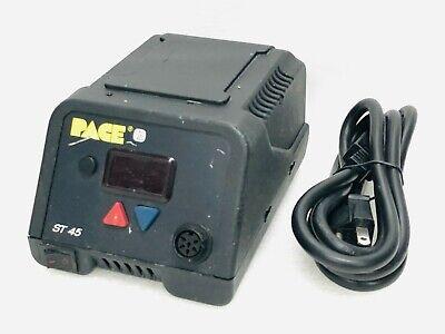 Pace St 45 Digital Sensatemp Soldering Desoldering Controller Station W Power