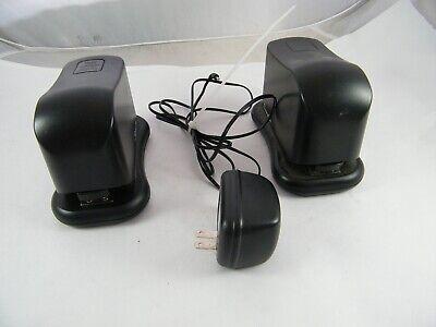 2 Swingline Battery Powered Electric Staplers Model 211xx Plus 1 Power Adapter