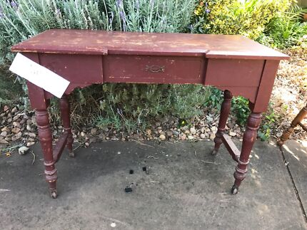 Antique table/hall stand
