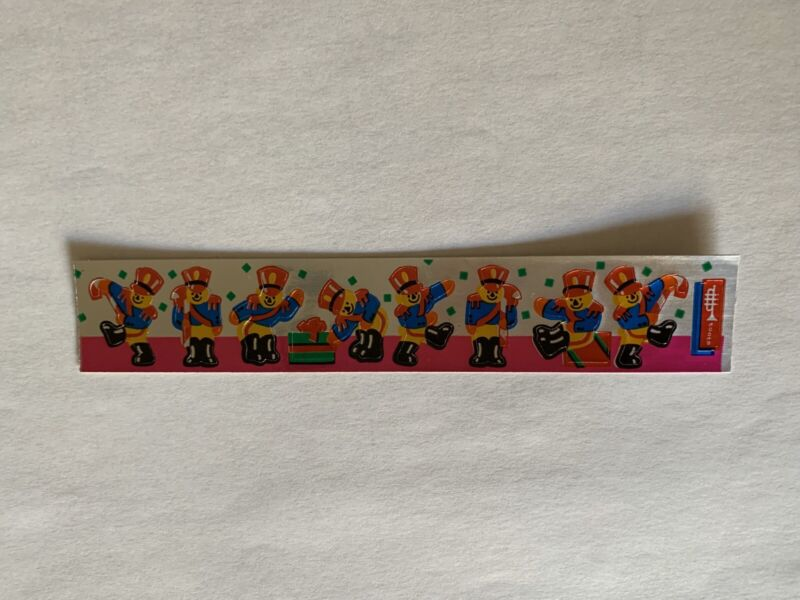 Rare Vintage Stickers - Cardesign -Toots Toy Soldiers (foil) Dated 1984