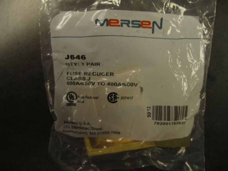NEW MERSEN FUSE REDUCER J646