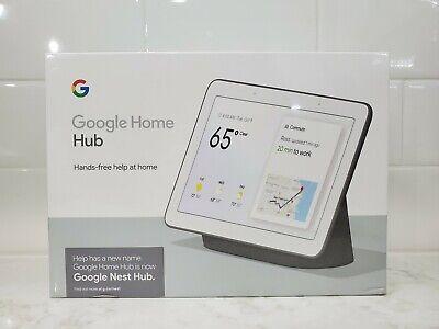"Google Nest Hub 7"" Screen Charcoal w/ Smart Google Assistant - GA00515-US"