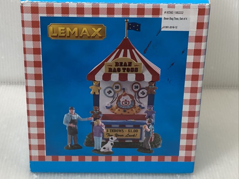 Lemax Carnival Village Bean Bag Toss #93392 Discontinued 2019