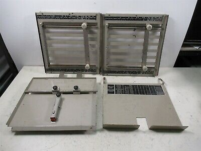 Lot Of Martin Yale Seventeen Mark Iv Paper Folder Trays Bindery