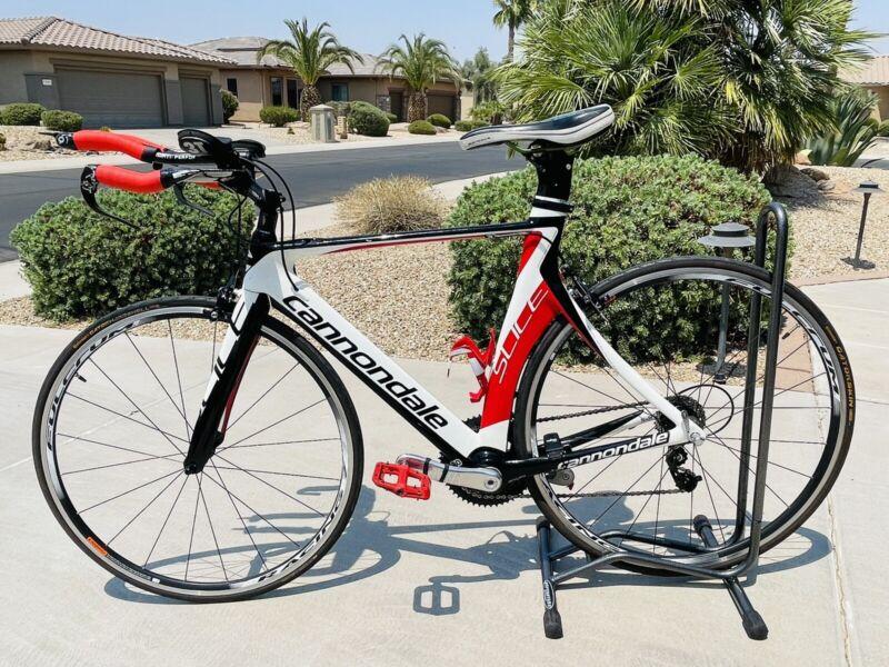 Cannondale Slice 105 Tri (Triathlon) Bike - A Beauty