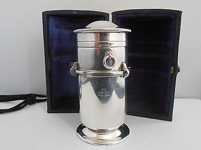 EXQUISITE & RARE ENGLISH STERLING SILVER TRAVELLING COMMUNION SET - MOWBRAY & CO