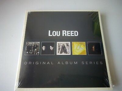 LOU REED - ORIGINAL ALBUM SERIES 5 CD SET NEW SEALED 2013 WARNER