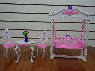 Gloria,Barbie Doll House Furniture/(2619) Rose Palace Garden Swing Leisure Time