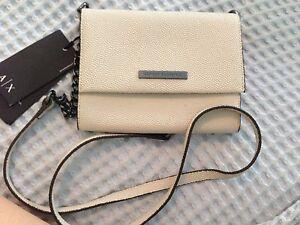Armani Exchange genuine leather satchel bag Lane Cove Lane Cove Area Preview