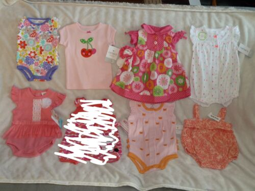 Baby Girl Clothes Lot Carters Gymboree Old Navy Newborn 0-3 Summer Reborn Doll
