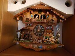 Original Black Forest Cuckoo Clock, driven by a mechanical clock movement