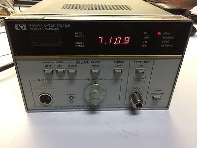 Hp Agilent 436a Digital Rf Power Meter W Option 022