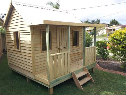 Kids Timber Cubby Houses Brand New