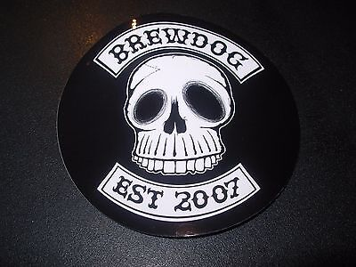 Brewdog Brew Dog Est 2007 Skull Sticker Decal Craft Beer Brewery