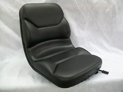 High Back Black Seat Bobcat 463542543642643742743843t190 Skid Steer Ey