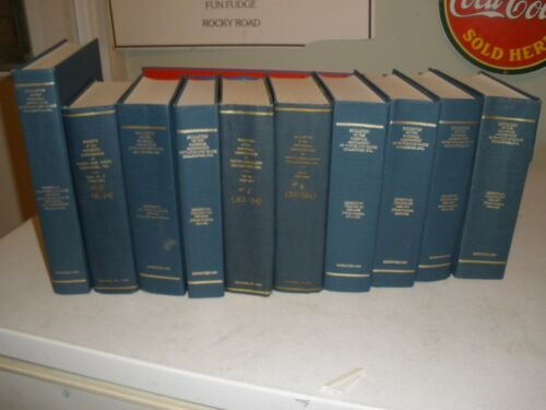 Bulletin of the National Association of Watch & Clock Collectors 10 Volumes