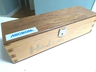 Microm 16cm Microtome Cryostat Knife Blade Type C - Nice Condition In Wood Case
