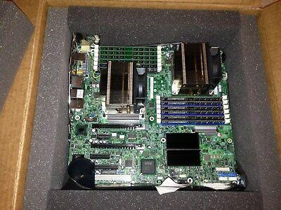 Used, Motherboard CPU Memory Bundle Combo Using Intel S5520SC + 2 X5680 CPU + 48GB MEM for sale  Elk Grove