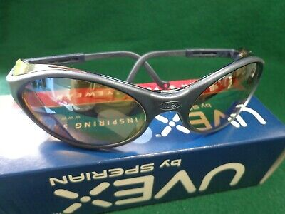 Honeywell Uvex Bandit Scratch-resistant Safety Glasses Gold Mirror Lens Color