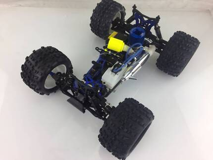 1/8 HSP Nitro Powered RC Monster Truck (No Radio Gear) Cheap!