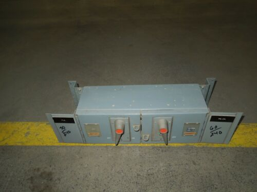 Fpe Qmqb3632 30/60a 3p 240v Twin Fusible Switch Unit Used