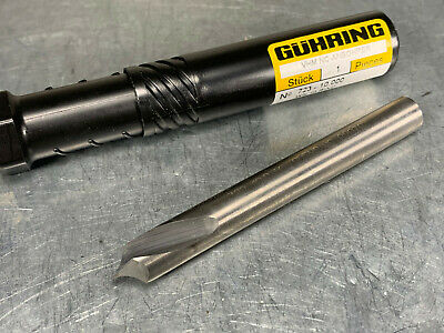 4.6MM  JOBBER CARBIDE 140 Drill Guhring NEW in Package of QTY  Overstock .1810