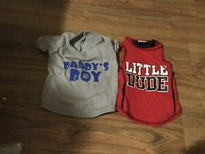 Girl & boy small dog or puppy clothes