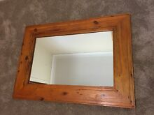 Large timber wall mirror Barden Ridge Sutherland Area Preview