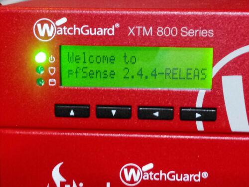 pfSense® Loaded WatchGuard® XTM 800  VPN+Firewall Appliance