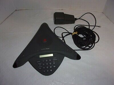 Polycom Soundstation Premier Conference Speakerphone With Power Supply
