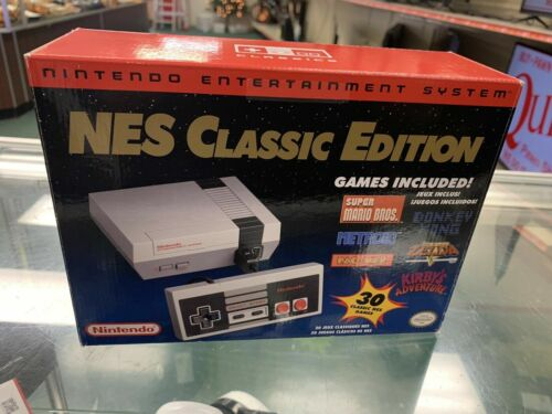new Nintendo Entertainment System NES Classic Edition 30 games HD Outup USA