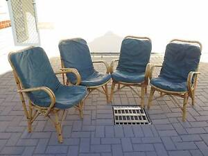 Four Cool Cane Chairs Westminster Stirling Area Preview
