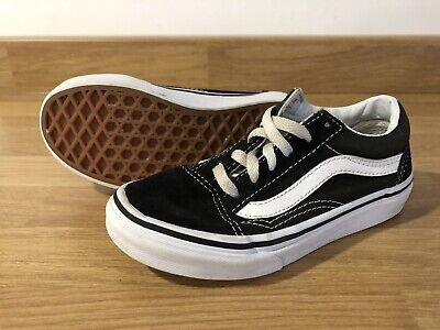 Kids Vans Black Size 12