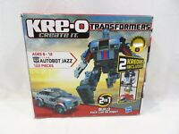 KRE-O Transformers BUMBLEBEE /& AUTOBOT JAZZ Building Toy Set 179 Pc Sealed New!