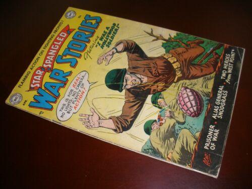 DC Comics Star Spangled War Stories # 8 Nice Copy