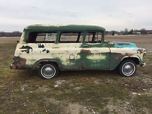 1955 Chevy suburban carry all