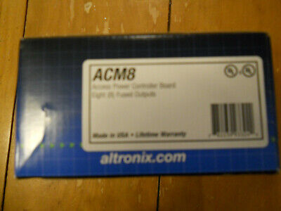 Altronix Acm8cb Access Power Controller New In Box