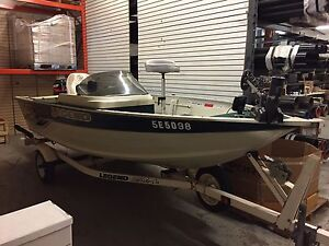 Legend Viper V-151 Speed Boat, 30hp Merc With Trailer