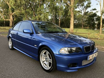 2002 BMW 325ci Coupe MSport Edition Luxury Long Rego Blue Moorebank Liverpool Area Preview