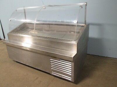 Traulsen Hd Commercial Nsf Refrigerated Ice Bed Cold Foodseafood Display