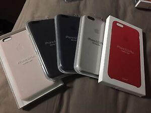 iPhone 6s Plus leather and silicon cases South Granville Parramatta Area Preview