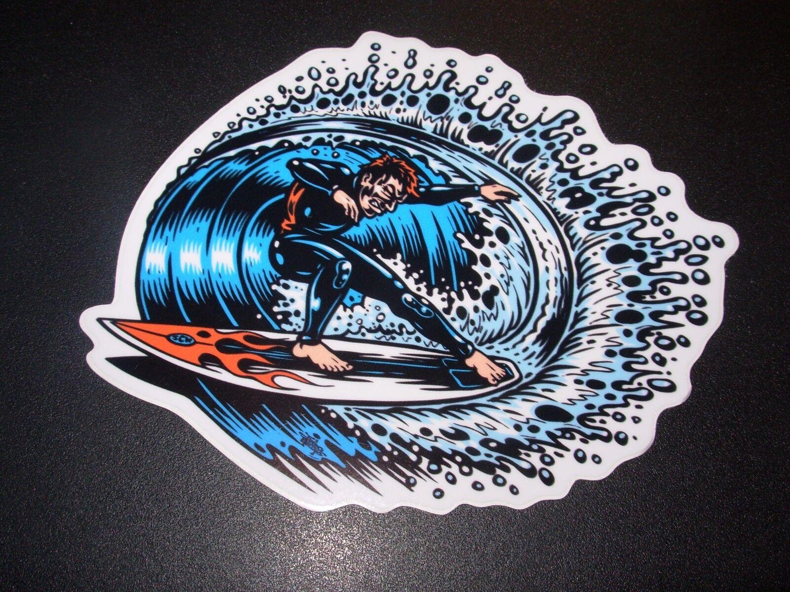 """JIMBO PHILLIPS Skate 5/"""" Sticker SURF SHREDDER skating skateboard helmets decal"""