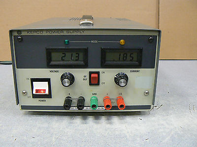 Kepco Msk 125-1m Power Supply 0-125v 0-1a In Good Working Condition