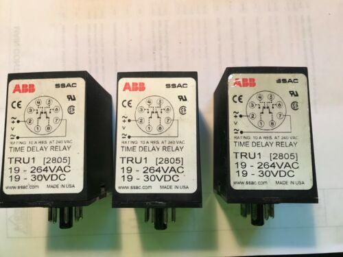 ABB TRU1 2805 Time Delay Relay SSAC
