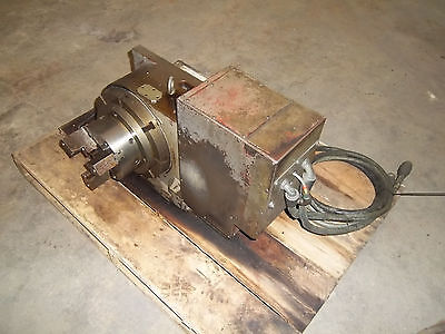 Smw Rotary 4th Axis Model Rt 320v With Accusmart 60