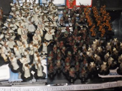 Star Wars miniatures 20 Tusken minis with cards,