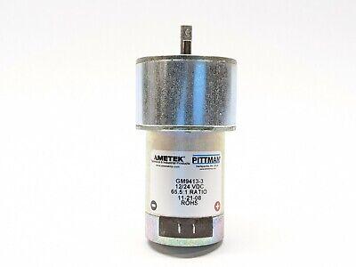 Ametek Gm9413-3 Gearmotor 65.51 1224vdc