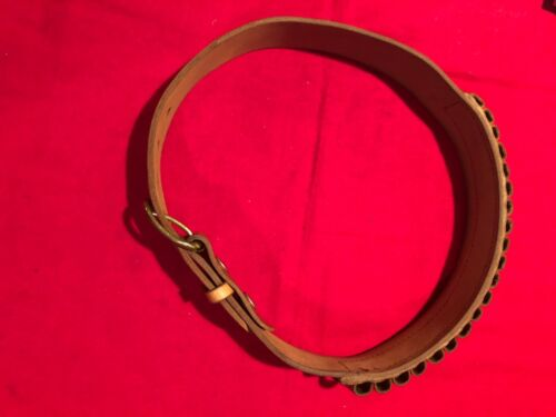 Smith and Wesson Brand 44 Magnum Cartridge Belt Size Small