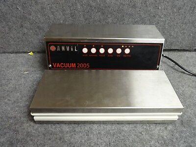 Anvil Vacuum 2005 Commercial Food Vacuum Sealer 400w