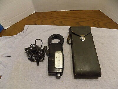 Vintage General Electric Amperes Volt Clamp Meter